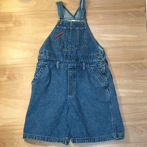 UnionBay Short Jean  Overalls Women's medium